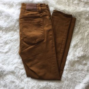 •Worn Once!• Madewell 9in High Riser Jean Size 26P